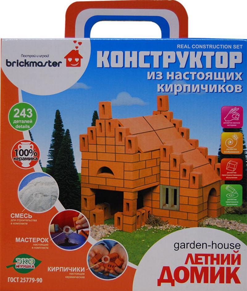 Конструктор Brickmaster 206 Летний домик (243 детали)) конструктор из глины brick master 206 летний домик