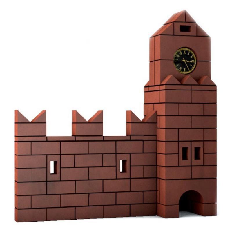 Конструктор Brickmaster Кремль 136 элементов 208 конструктор из глины brick master 208 кремль