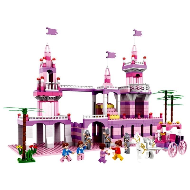 Купить Конструктор 1 Toy Маленькая Принцесса 600 элементов, 1toy, Конструкторы, мозаики, пазлы