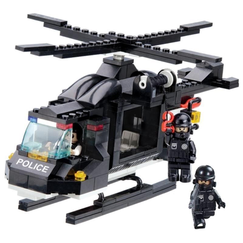 Конструктор 1 Toy Полицейский спецназ Воздушная охрана  200 элементов электромобили 1 toy бмв х5м