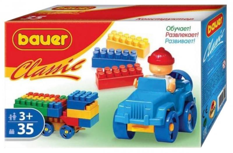 Купить Конструктор Bauer Classic 35 элементов, Конструкторы, мозаики, пазлы