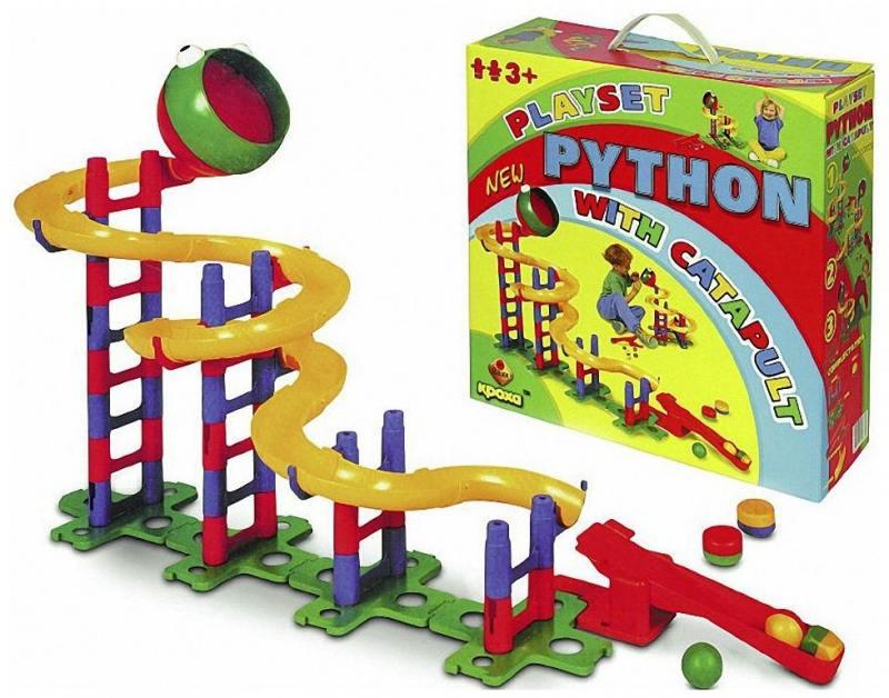 Конструктор Bauer Питон 58 элементов, Конструкторы, мозаики, пазлы  - купить со скидкой
