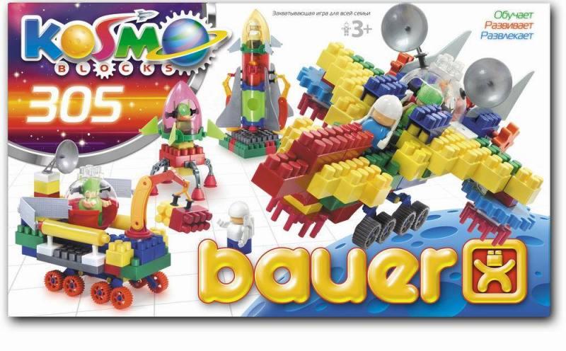 Конструктор Bauer Космос 305 элементов конструктор bauer космос 305 элементов