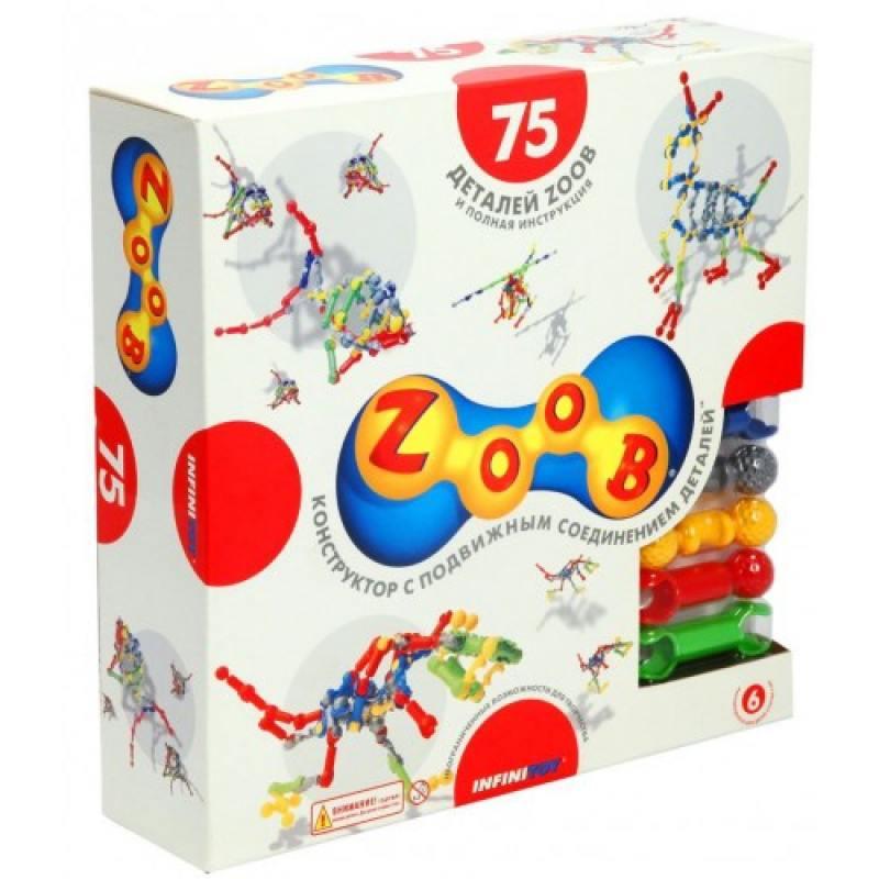купить Конструктор ZOOB Sparkle 75 дет. 11075 по цене 1397 рублей