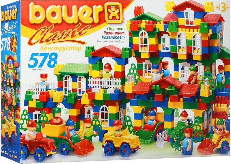 Конструктор Bauer Classik 201 578 элементов цена