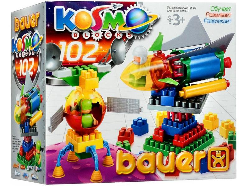Купить Конструктор Bauer Космос 102 элемента 268, Конструкторы, мозаики, пазлы