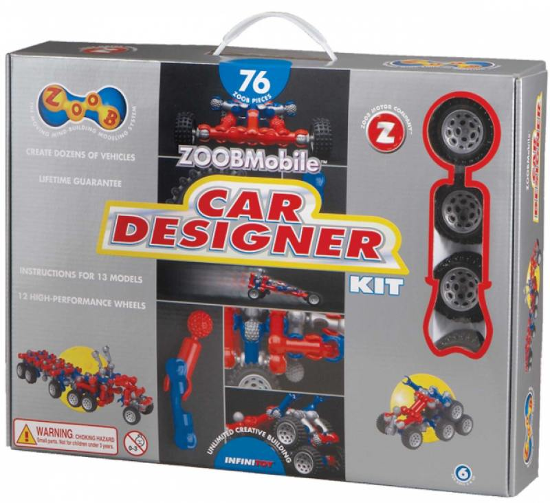 Конструктор ZOOB Mobile Car Designer 12052