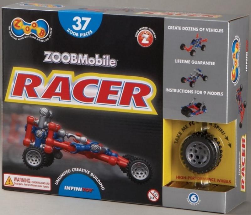 Конструктор ZOOB Mobile Racer 12051 конструктор zoob 11060 sparkle 60