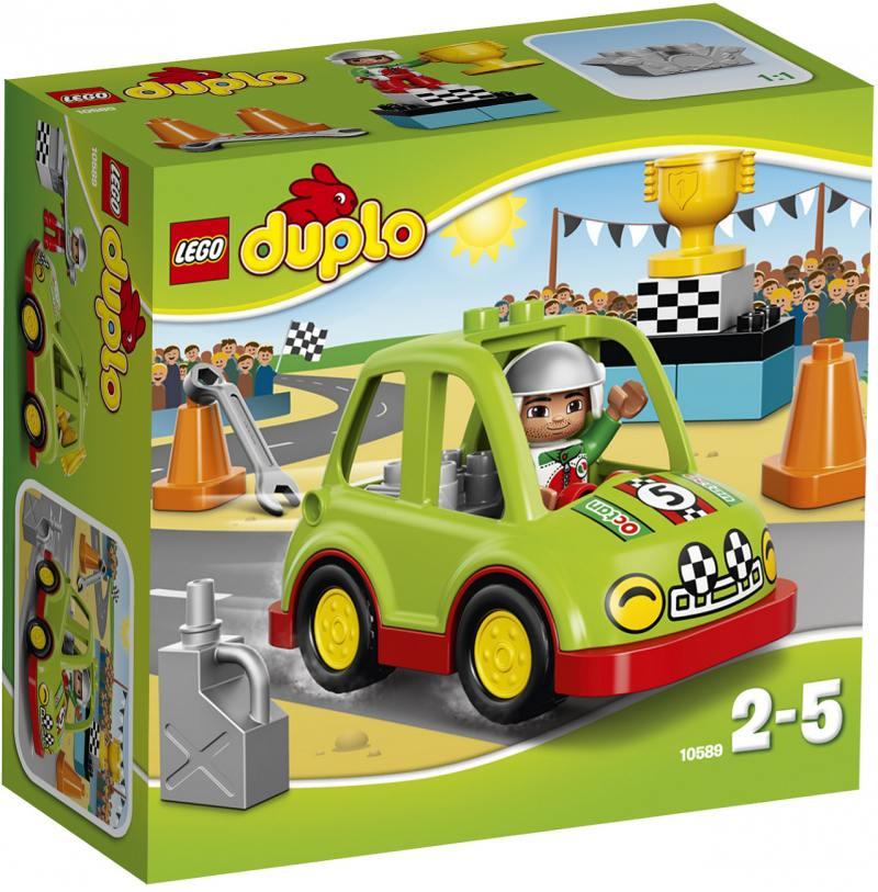 Конструктор LEGO Дупло Гоночный автомобиль