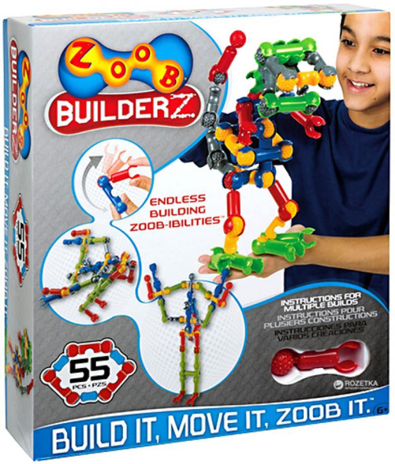 Конструктор ZOOB BuilderZ 55 элементов OZ11055TL