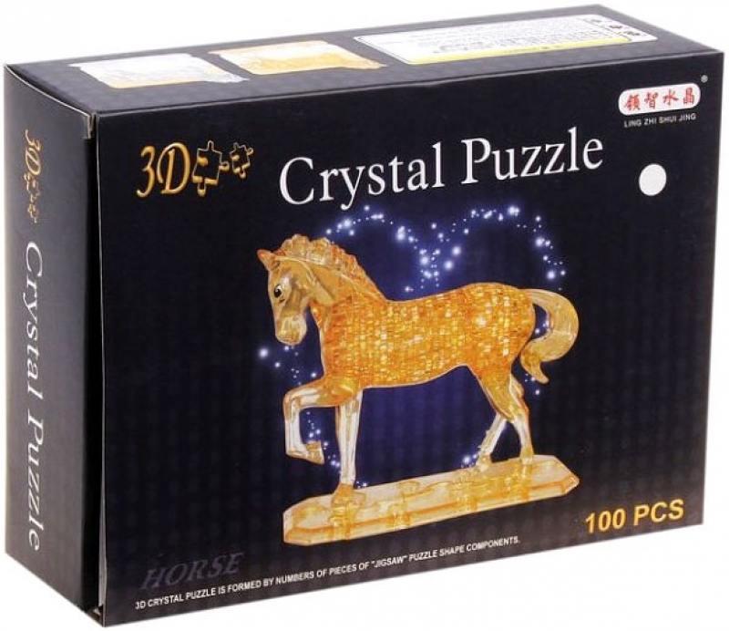 Пазл 3D 100 элементов Shantou Gepai Лошадь 9018
