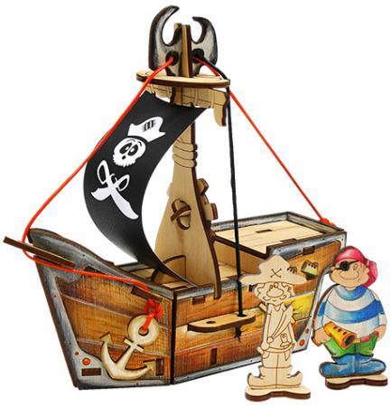 Игрушка Вуди Набор Пиратский корабль Карамба набор декоративных шкатулок пиратский корабль 2 штуки no name zw001192