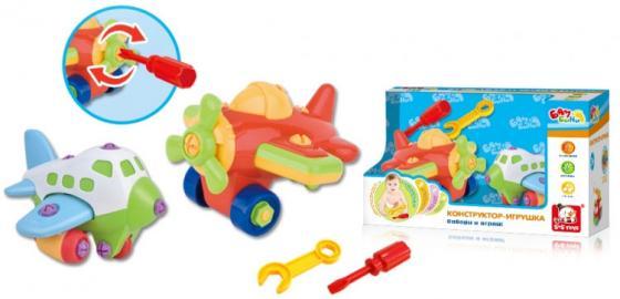 Развививающая игрушка S+S BAMBINI игрушка-конструктор самолеты (24 детали и отвертка) ролевые игры s s toys игрушка волшебная палочка