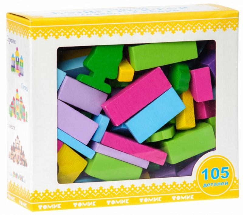 Купить Конструктор Томик Краски дня - Вечер 105 элементов 6674-31, Конструкторы, мозаики, пазлы