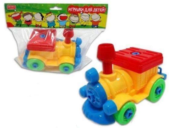 Конструктор Zhorya Игрушки для детей! - Поезд Х75793 игрушки для детей