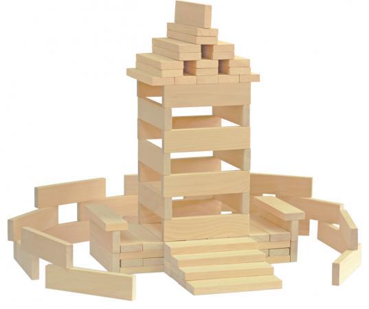 Конструктор Краснокамская игрушка К-04 Брусочки строительные 122 элемента конструкторы tigres tigres 39077 конструктор 122 элемента