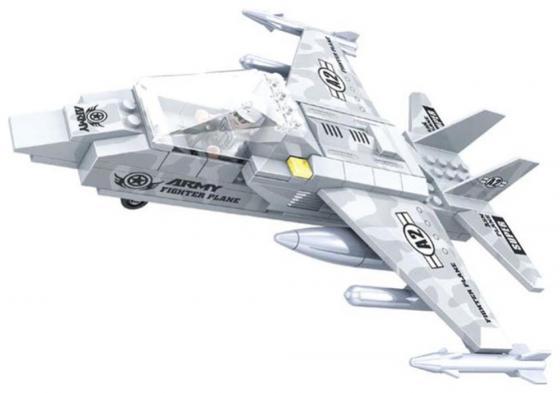 Конструктор Ausini Армия - Самолет 126 элементов  22402 ausini 20209 поезд