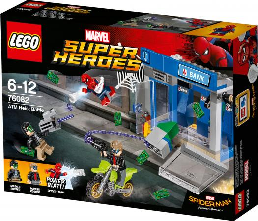 Конструктор LEGO Ограбление банкомата 76082 185 элементов конструктор bela supreme heroes ограбление банкомата 207 дет 10742