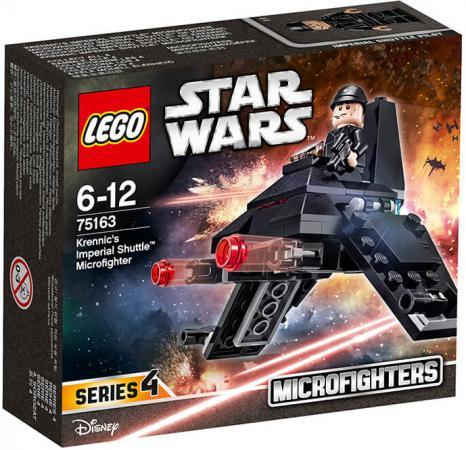 Конструктор LEGO Star Wars: Микроистребитель Имперский шаттл Кренника 75163 конструктор lego star wars 75162 микроистребитель типа y