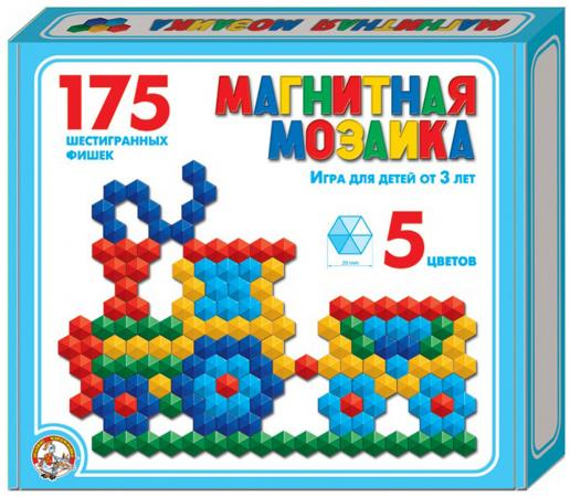 Мозайка Десятое королевство магнитная шестигранная 20/5цв/ 175шт 00959