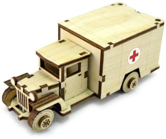 Конструктор LEMMO Советский Грузовик ЗИС-5М 34 элемента ЗИС-3 конструктор металлический грузовик и трактор 345 элементов