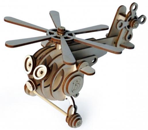 Конструктор LEMMO Вертолет ВИТЯ 44 элемента 0057