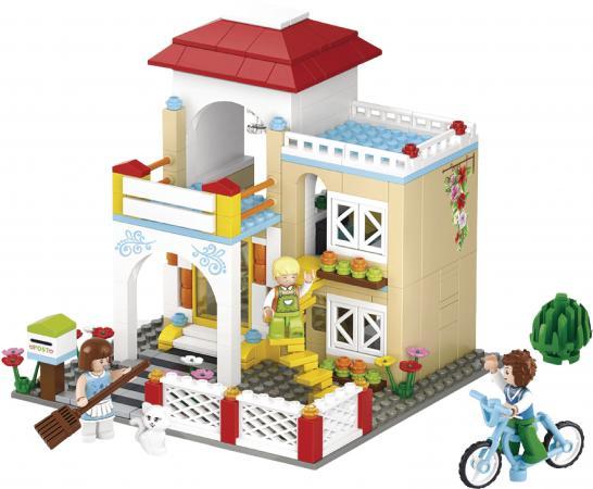 Конструктор SLUBAN Загородный дом M38-B0533 380 элементов конструктор sluban red cliff крепость скала 445 элементов m38 b0265