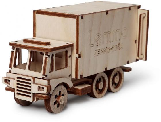 Картинка для Деревянный конструктор LEMMO грузовик Чип 51 элемент 0065