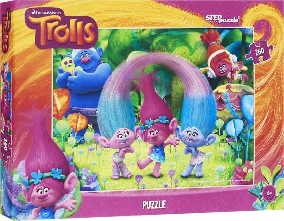 Пазл 260 элементов Step Puzzle Trolls 95053