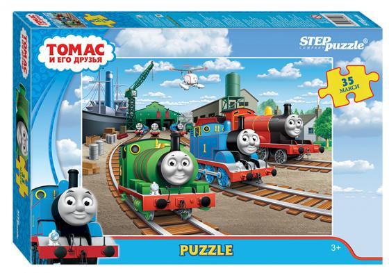 Пазл 35 элементов Step Puzzle Томас и его друзья 91223 step puzzle пазл для малышей томас и его друзья