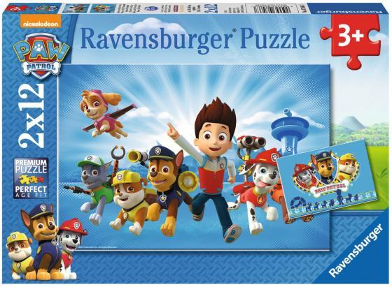 Пазл 24 элемента Ravensburger Щенячий патруль 07586 пазл ravensburger сейшелы 1500 элементов
