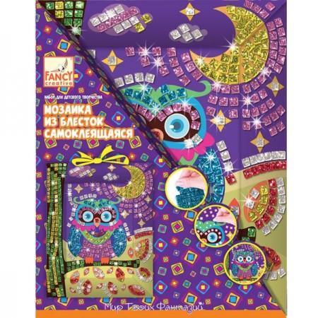 Купить Мозаика из блесток самоклеящаяся СВЕРКАЮЩИЕ ПЛИТКИ , Fancy Creative, Конструкторы, мозаики, пазлы