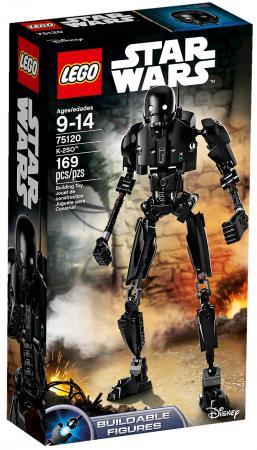 Купить LEGO CONSTRACTION STAR WARS K-2SO™ в кор.6шт, Конструкторы, мозаики, пазлы