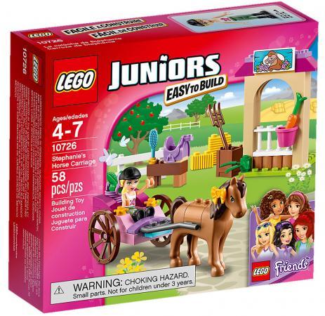 LEGO JUNIORS КАРЕТА СТЕФАНИ в кор.8шт lego lego juniors 10747 день на пляже с андреа и стефани