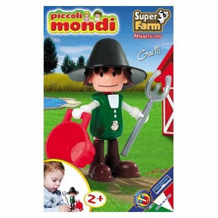 Магнитный конструктор Piccoli Mondi Super Farm toytoys магнитный конструктор toto 011