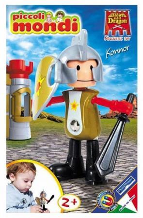 Магнитный конструктор Piccoli Mondi Wizard & Dragon toytoys магнитный конструктор toto 011