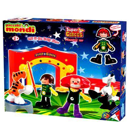 Магнитный конструктор Piccoli Mondi Super Circus [sgdoll] 2017 new anime black butler kuroshitsuji ciel sebastian michaelis circus pvc figure no box 5422 l