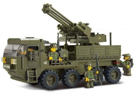 Конструктор SLUBAN Тяжелый M38-B0302 306 элементов