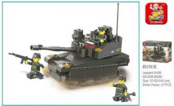 Конструктор пласт. танк с