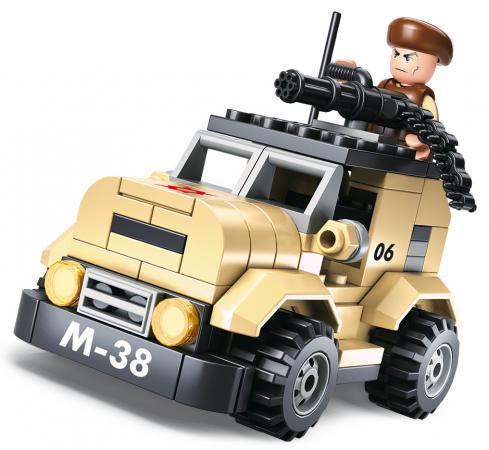 Конструктор пласт. 8-в-1 военная