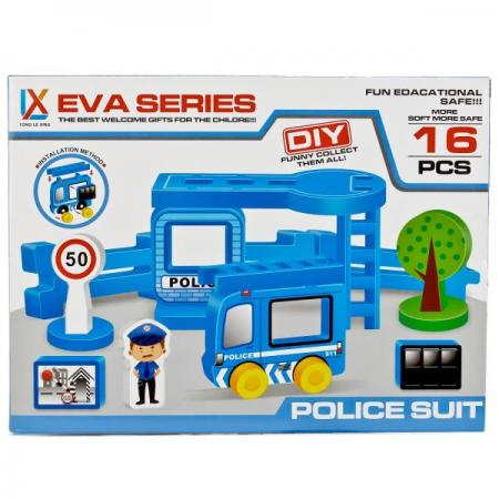 КОНСТРУКТОР ПОЛИЦЕЙСКИЙ УЧАСТОК, МЯГКИЕ ДЕТАЛИ, 16ДЕТ. H1602 В КОР. в кор.2*48шт carburetor carb for nissan a12 cherry pulsar vanette truck datsun sunny b210 pulsar truck 16010 h1602 16010h1602 16010 h1602