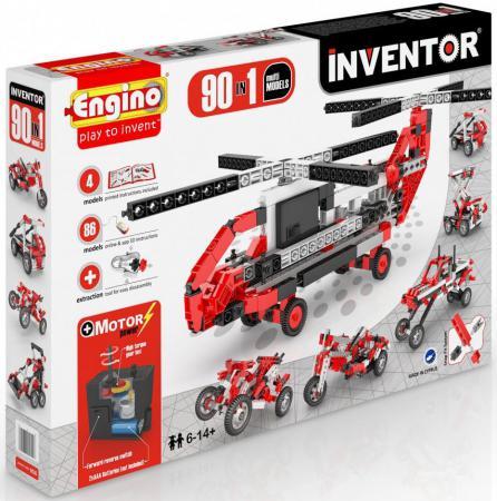 Конструктор ENGINO Inventor 218 элементов 9030 с мотором конструктор игровой для ребенка engino pico builds inventor pb14 спецтехника