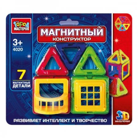 Магнитный конструктор Город мастеров DT-4020-R 7 элементов DT-4020-R dt 1212