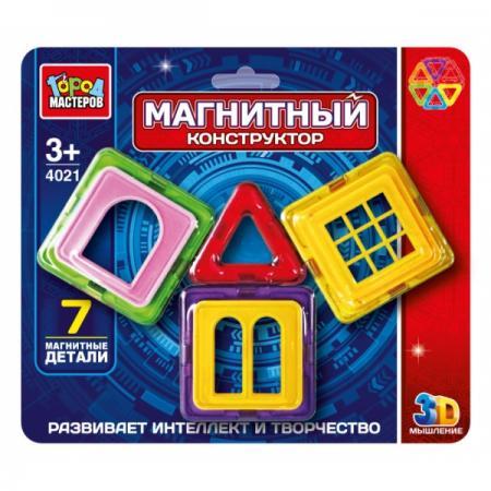 Купить Магнитный конструктор Город мастеров DT-4021-R DT-4021-R, Конструкторы, мозаики, пазлы