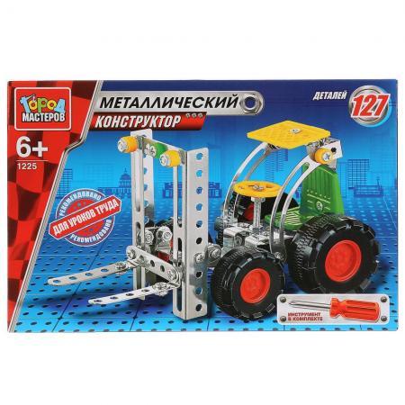 Металлический конструктор Город мастеров Подъёмник 127 элементов WW-1225-R игрушка drift подъёмник строительный 70396