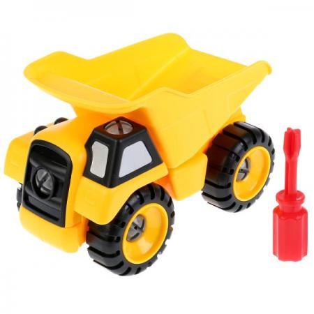 Конструктор с ключом грузовик CXL200-26C в пак. в кор.2*60шт конструктор металлический грузовик и трактор 345 элементов