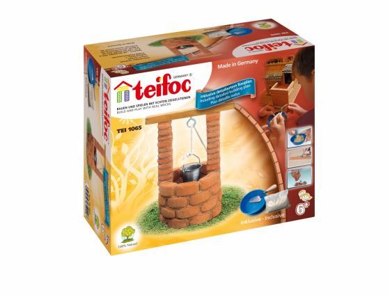 Конструктор TEIFOC Колодец TEI 1065 teifoc конструктор из кирпичиков teifoc серпантин 210 деталей