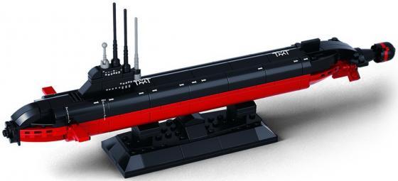 КОНСТРУКТОР ПЛАСТ. ПОДВОДНАЯ ЛОДКА, 193ДЕТ. В РУСС. КОР. 28*21*5СМ в кор.36шт подводная лодка подводная лодка f301 угол клапан красоты
