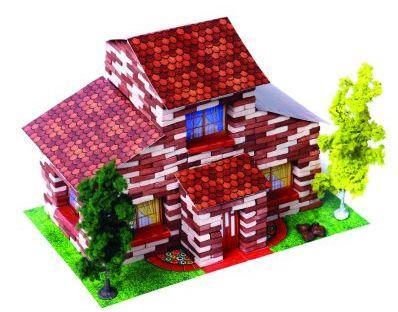 Конструктор Архитектурное моделирование Коттедж 690 элементов Л-02