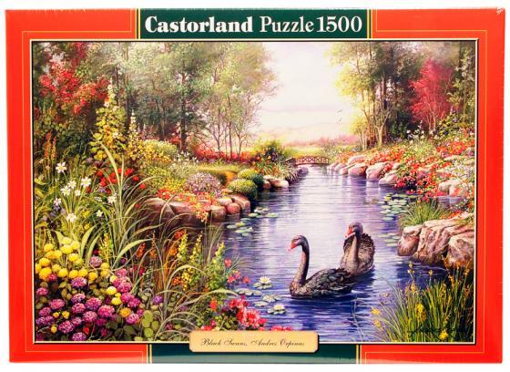 Купить Пазл 1500 элементов Кастор Черные лебеди, Конструкторы, мозаики, пазлы